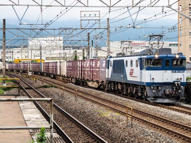 EF64 1015貨物06