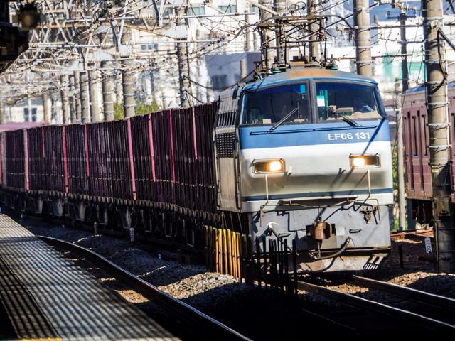 EF66 131貨物01