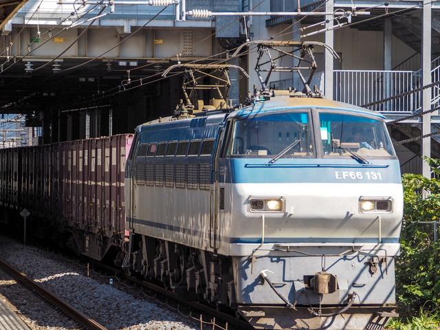 EF66 131貨物02