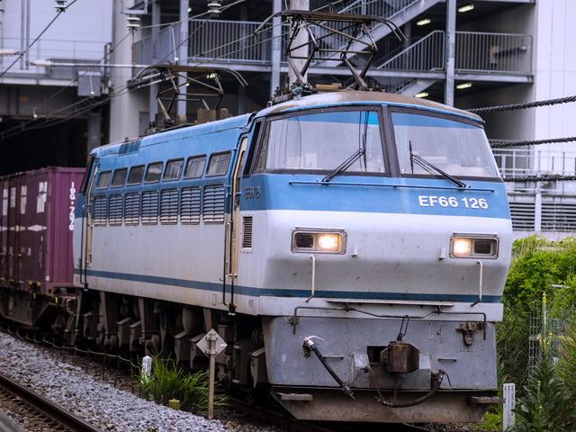 EF66-126下り1