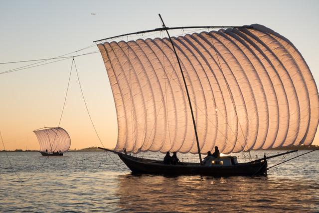 帆引き船12