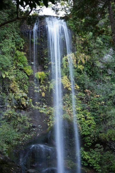 夕日の滝3