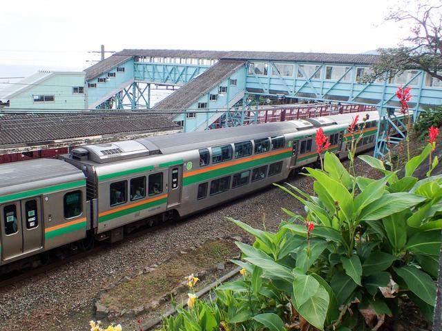 鉄路(根府川駅)19