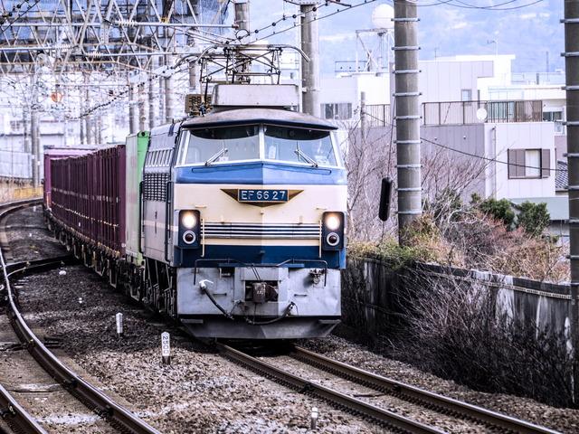 EF6627機関車2