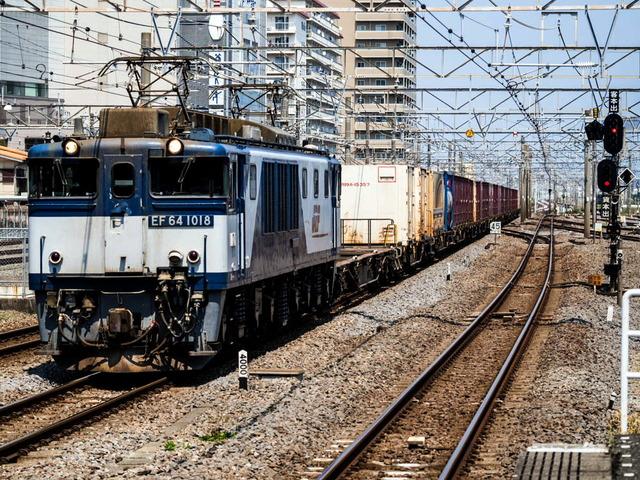 EF64 1018電気機関車01