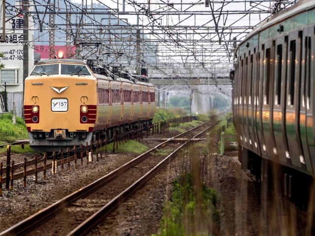 Y157記念列車1