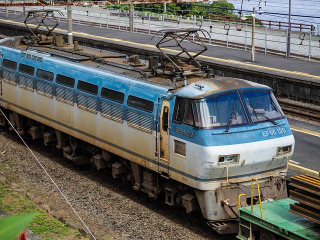 鉄路(根府川駅)10