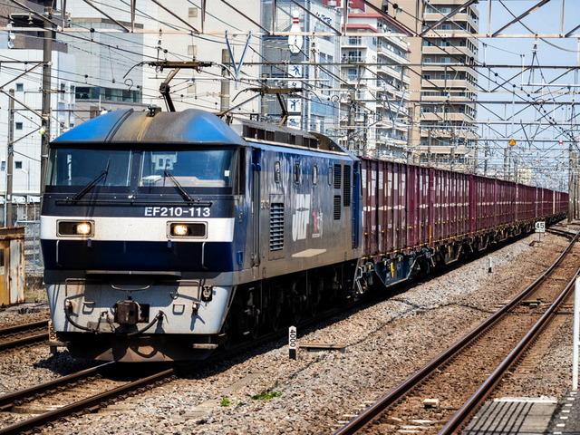 EF210-113電気機関車01