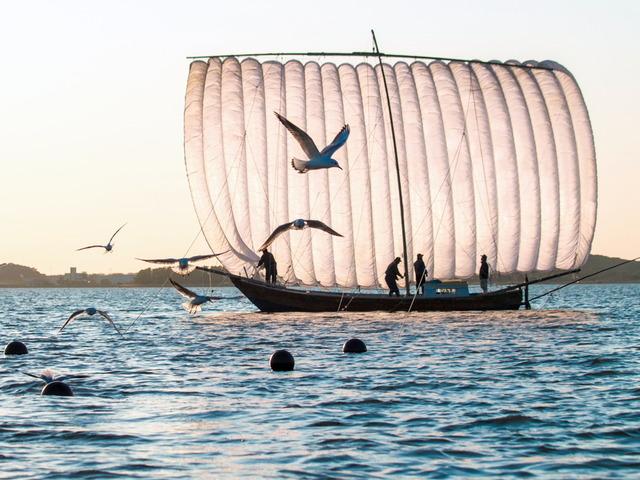 帆引き船9