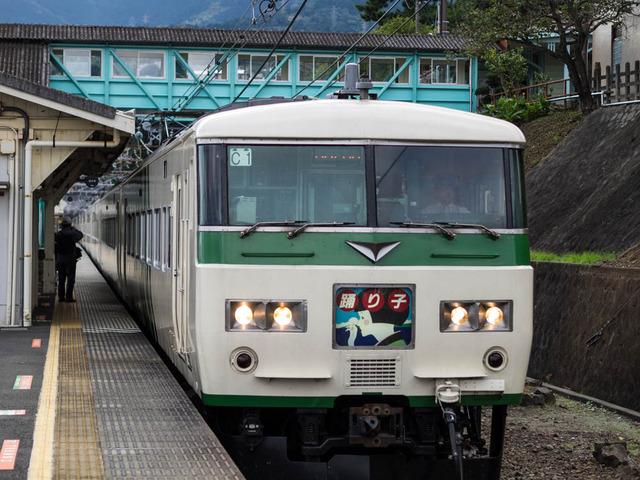 鉄路(根府川駅)16