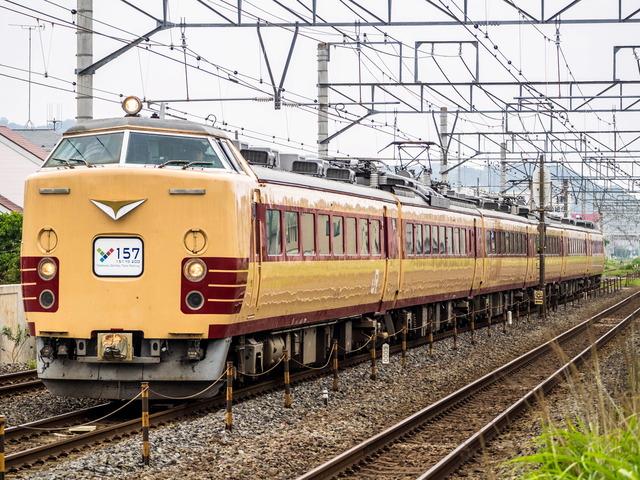 Y157記念列車2