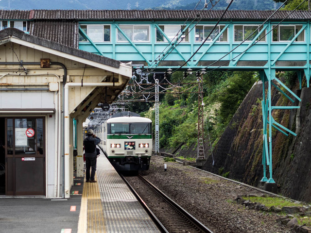 鉄路(根府川駅)15