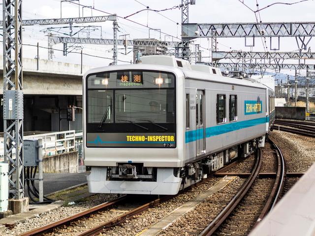 小田急検測車2