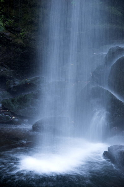 夕日の滝5