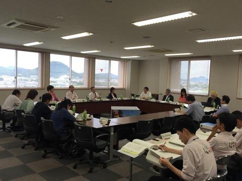 第3回三木町総合戦略策定委員会の様子