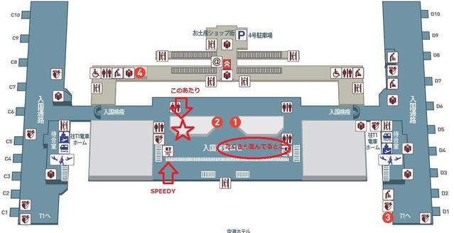 桃園国際空港で亞太電信のSIMを買った