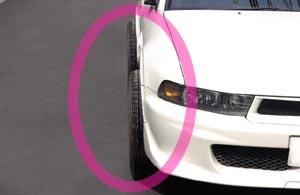 車検 タイヤ はみ出し 車検時 ホイールのはみ出しはどこまでOK?ナットについても