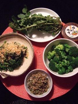 今夜の惣菜