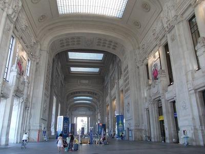 ミラノ駅1