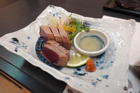 20191022_西郷酒盛_かつおたたき