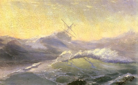 Aivazovsky_Ivan_Konstantinovich_Bracing_The_Waves