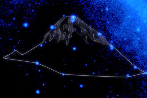 MtFuji_Constellation