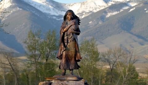 Sacagawea_bronze_SalmonRiver