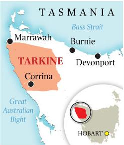 Tarkine-locality-map