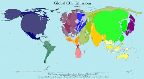 CarbonEmissionMap_2009