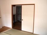 リフォーム後 1階和室から廊下を