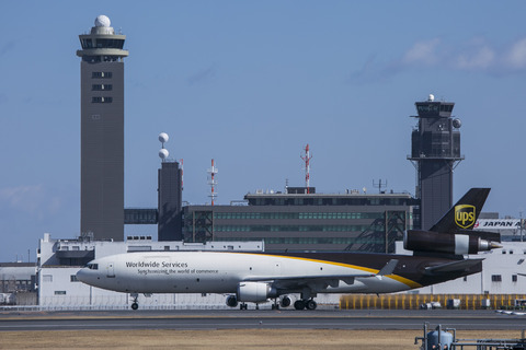 UPS Airlines:McDonnell Douglas MD-11F(N252UP)-7063
