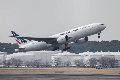 Air France:Boeing 777-F28(F-GUOB)-8999