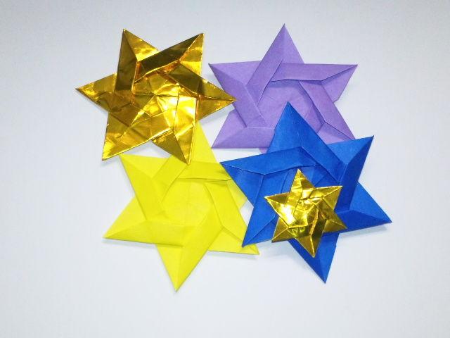 クリスマス 折り紙 折り紙 星の作り方 : blog.livedoor.jp