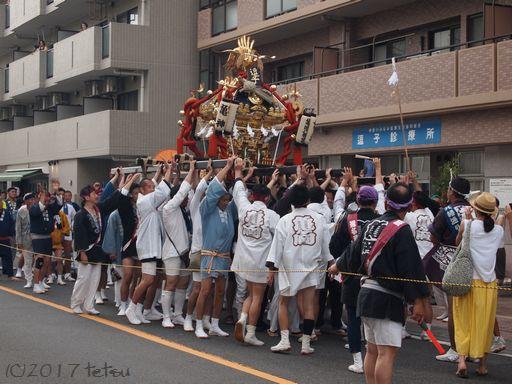 亀ヶ岡八幡例大祭