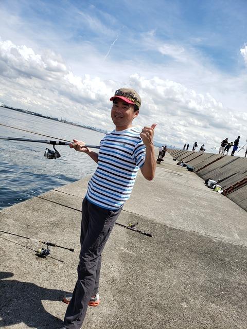 2019-9-5釣り