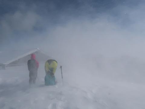 雪の伊吹山2019