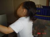 後ろ髪長いです。