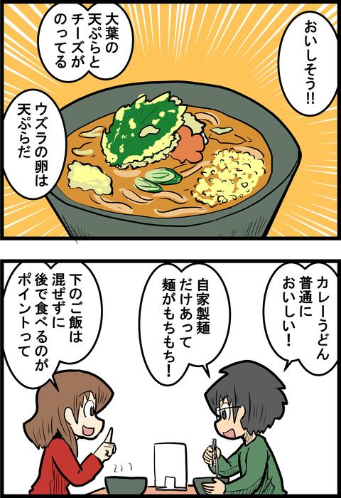 カレーうどん実食_1
