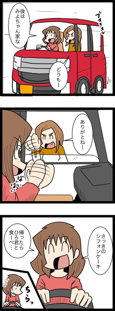 平らなシフォン3