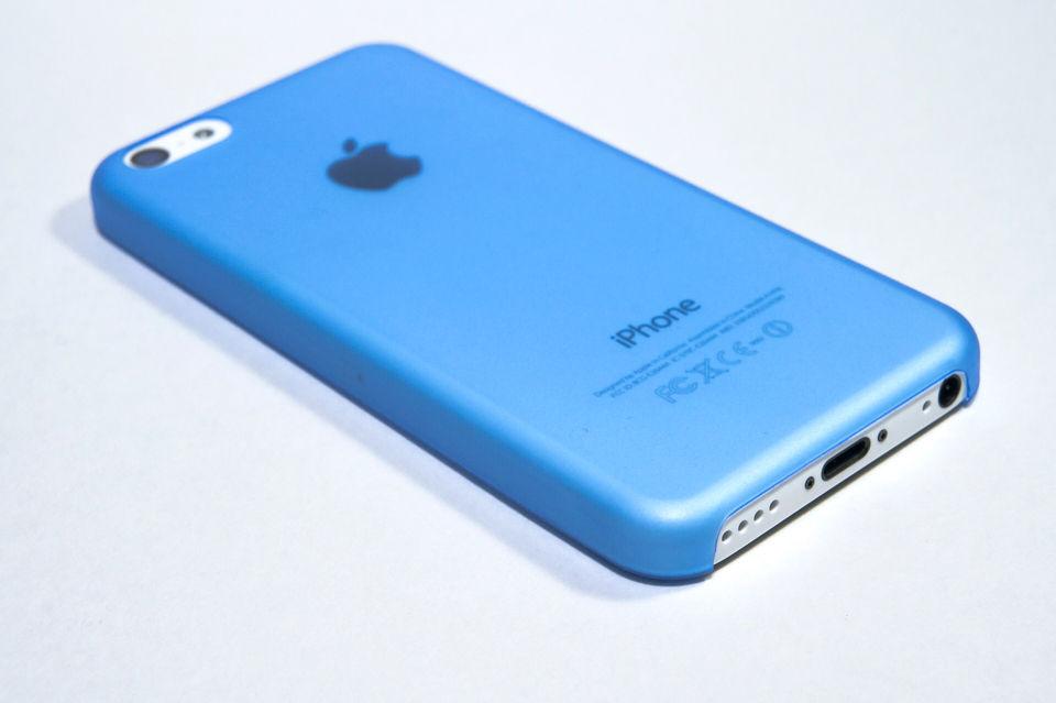 空気のように軽いiPhone5C用 極...