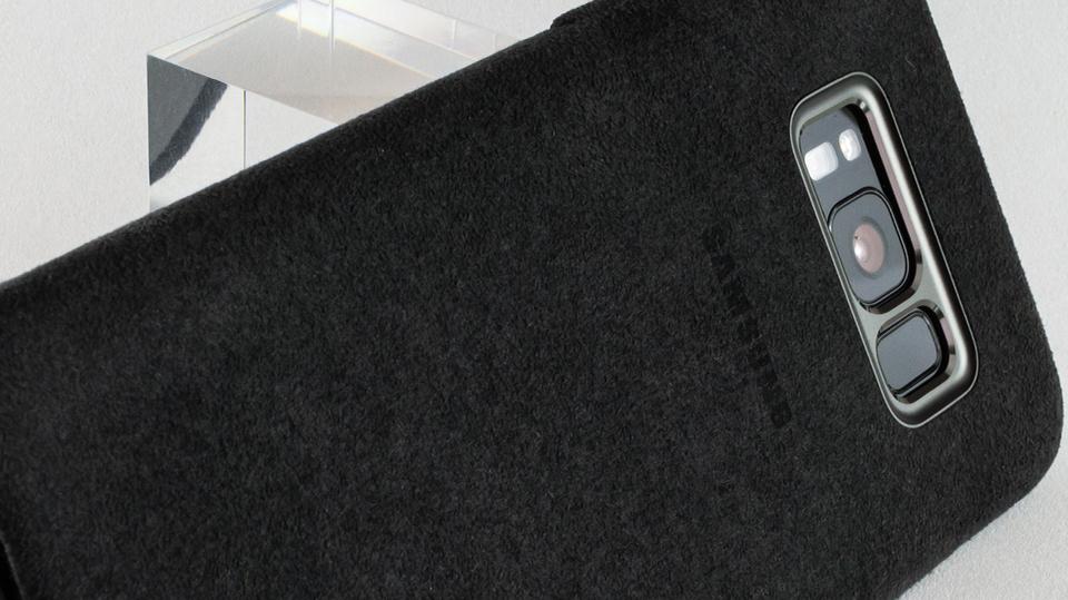 日本未発売のSamsung公式 Galaxy S8ケース アルカンターラ・カバー レビューコメント