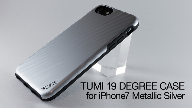 huge discount 77c92 c2d11 鞄メーカーで有名なTUMIのiPhone 7用ケース 19 DEGREE Metallic Silver ...