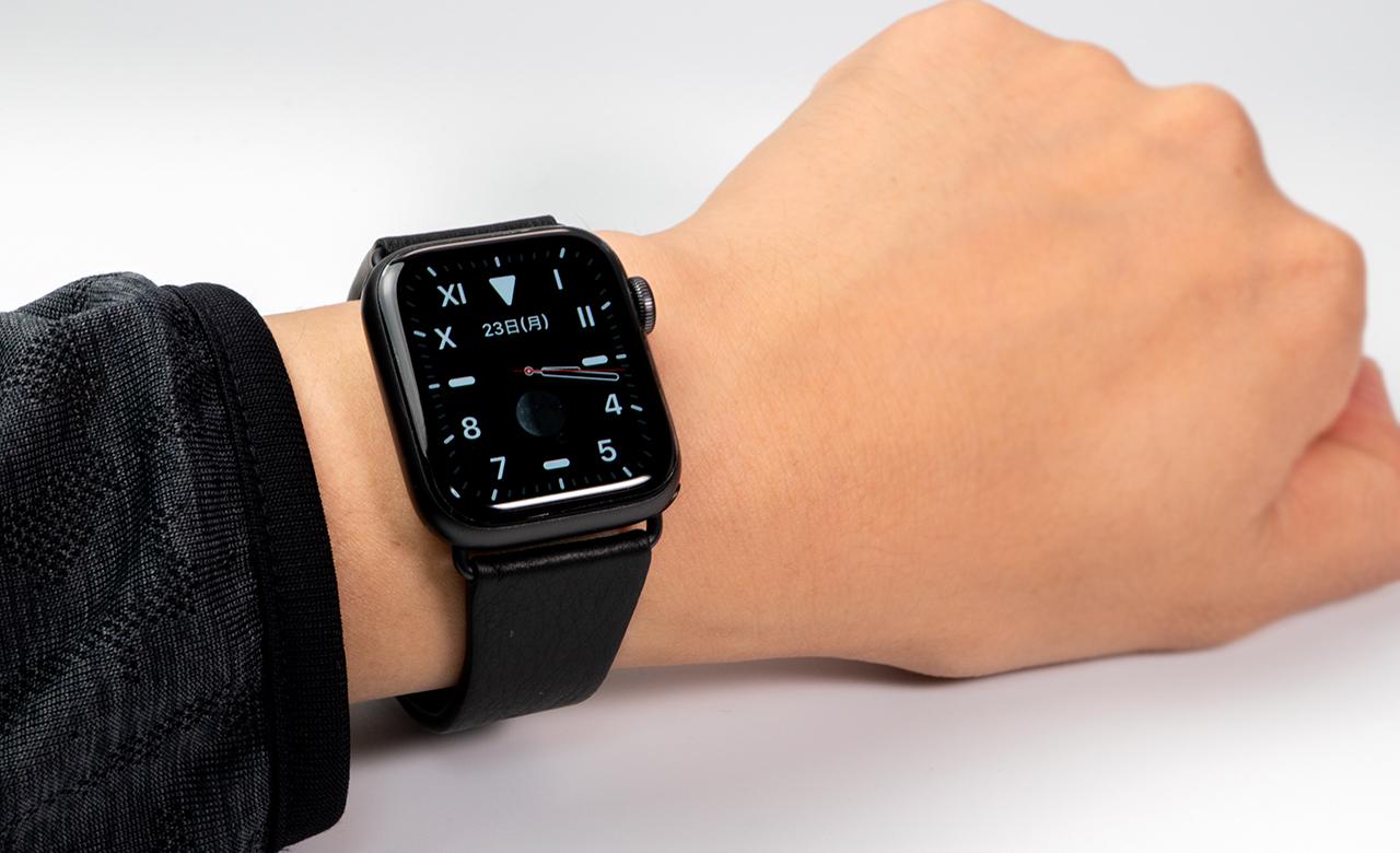 Apple Watch Series1 5対応 ベルキン Apple Watch用レザーバンド レビュー おshinoブ