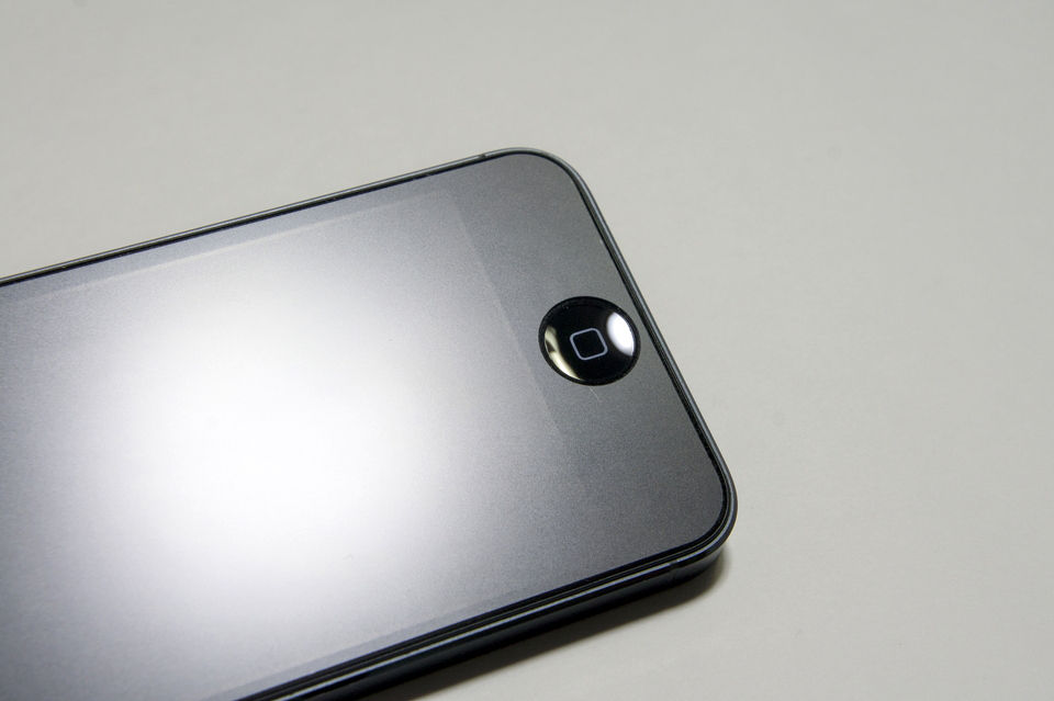45a435bd1d 衝撃吸収アンチグレアフィルムセット for iPhone 5 (PJK-06)|パワーサポート