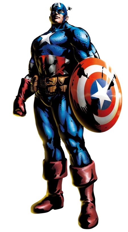 ムキムキなキャプテンアメリカ