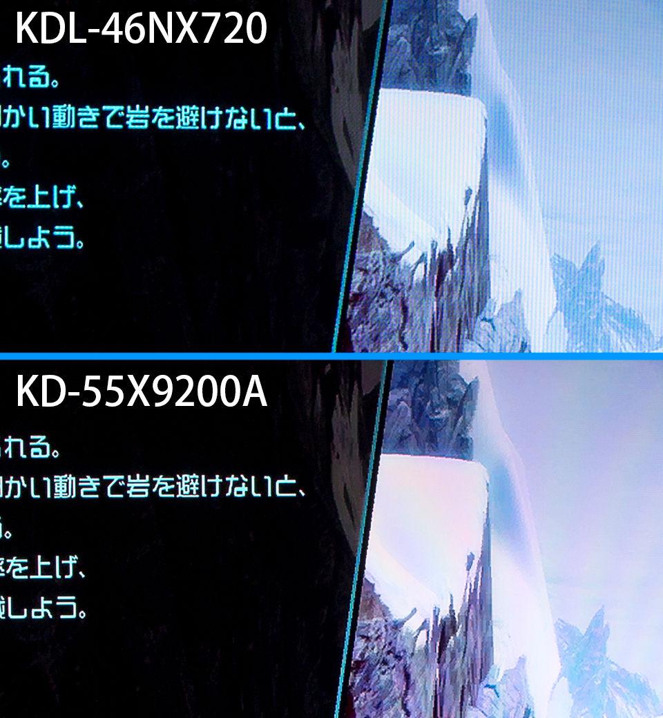フルHDテレビと4Kテレビの画質の違いをご覧下さい