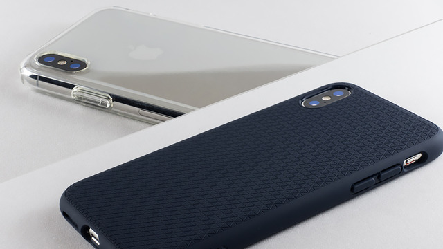 123cc3be83 Spigen iPhone X用ソフトTPUケース 「リキッド・クリスタル」「リキッド ...