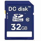 DC disk SDカード SDHC 32GB Class10 HDビデオカメラ対応 カードケース入り