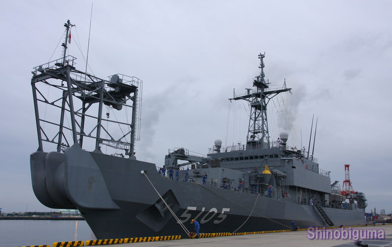 海洋観測艦「AGS-5105・にちなん...