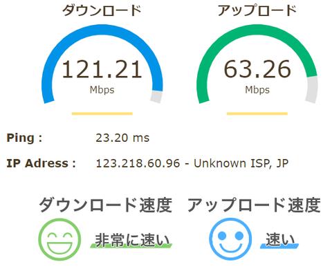 スピードテスト2020 4 9VGN-NW51FB LANケーブルCAT5
